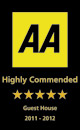 AA - Highly Commended 5 stars