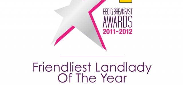 AA Friendliest Landlady Finalist 2011-12